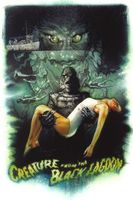 Creature from the Black Lagoon movie poster (1954) picture MOV_3fd1180b