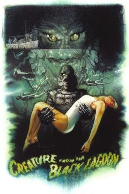 Creature from the Black Lagoon movie poster (1954) poster MOV_3fd1180b