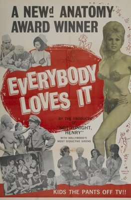 Everybody Loves It movie poster (1964) poster MOV_3fe40e40
