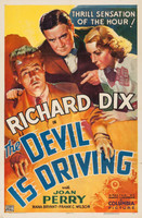 The Devil Is Driving movie poster (1937) picture MOV_3lce8sbn
