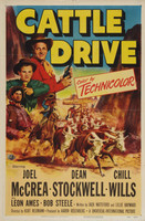Cattle Drive movie poster (1951) picture MOV_3wxkrpcm