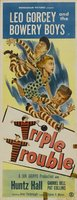 Triple Trouble movie poster (1950) picture MOV_4000ed0e