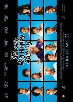 Madea's Big Happy Family movie poster (2011) poster MOV_401958b3