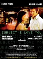 Subject: I Love You movie poster (2011) picture MOV_4039836b