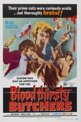 Bloodthirsty Butchers movie poster (1970) poster MOV_403c38c7