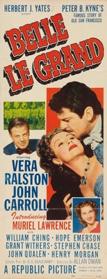 Belle Le Grand movie poster (1951) poster MOV_404a0735