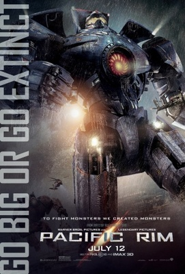 Pacific Rim movie poster (2013) poster MOV_404c64b2