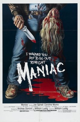 Maniac movie poster (1980) poster MOV_4051f24f