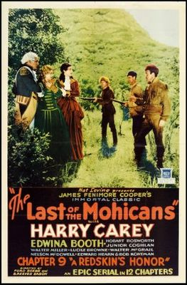 The Last of the Mohicans movie poster (1932) poster MOV_40565688