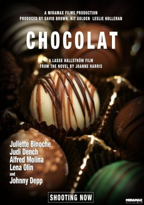 Chocolat movie poster (2000) poster MOV_406bb75e