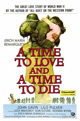 A Time to Love and a Time to Die movie poster (1958) poster MOV_406cede6