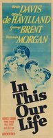 In This Our Life movie poster (1942) picture MOV_40729fbe