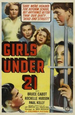 Girls Under 21 movie poster (1940) poster MOV_4073cedf