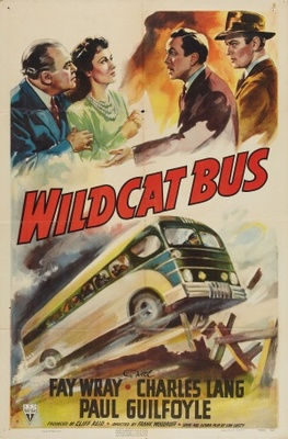 Wildcat Bus movie poster (1940) poster MOV_40763c22