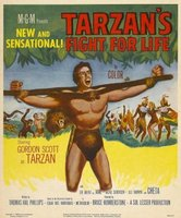 Tarzan's Fight for Life movie poster (1958) picture MOV_4078f9a0