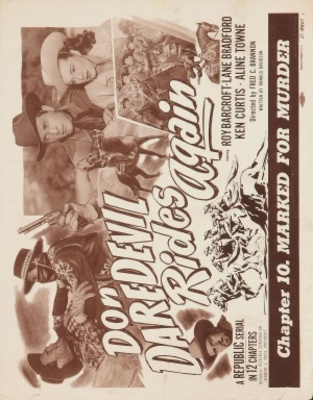 Don Daredevil Rides Again movie poster (1951) poster MOV_407f53ff