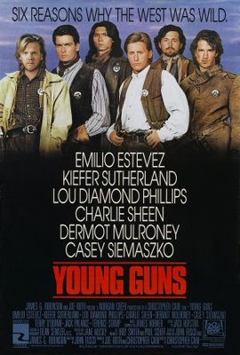 Young Guns movie poster (1988) poster MOV_408050ed