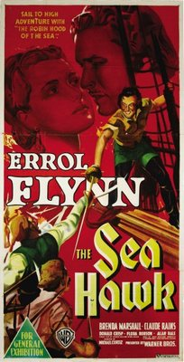 The Sea Hawk movie poster (1940) poster MOV_408bbee9