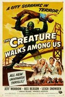 The Creature Walks Among Us movie poster (1956) picture MOV_409536d3
