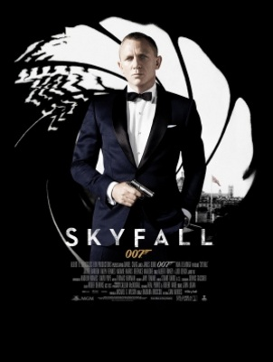 Skyfall movie poster (2012) poster MOV_4097f2fd