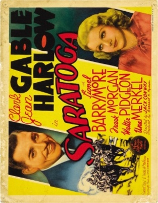 Saratoga movie poster (1937) poster MOV_40bb2ded