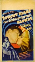 The Adventurous Blonde movie poster (1937) picture MOV_40d6fa6b
