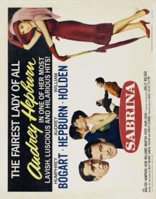 Sabrina movie poster (1954) poster MOV_40ea85a8
