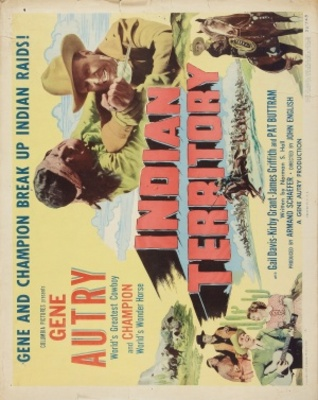 Indian Territory movie poster (1950) poster MOV_40f626c5