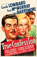 True Confession movie poster (1937) picture MOV_40fee934