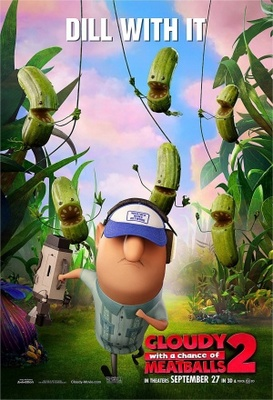 Cloudy with a Chance of Meatballs 2 movie poster (2013) poster MOV_41034cf6