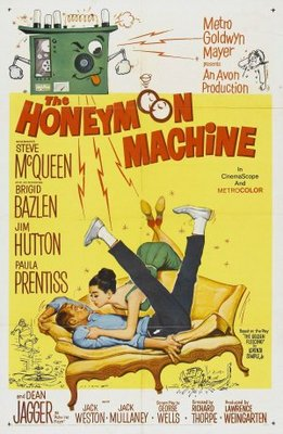The Honeymoon Machine movie poster (1961) poster MOV_41044158