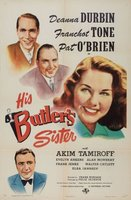 His Butler's Sister movie poster (1943) picture MOV_413bdeb2