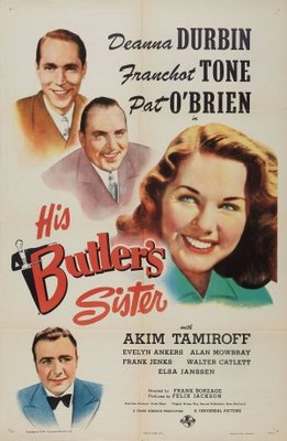His Butler's Sister movie poster (1943) poster MOV_413bdeb2
