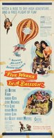 Five Weeks in a Balloon movie poster (1962) picture MOV_414ad320