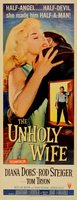 The Unholy Wife movie poster (1957) picture MOV_414e32bc