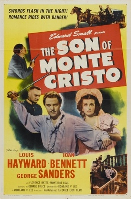 The Son of Monte Cristo movie poster (1940) poster MOV_415d8a06