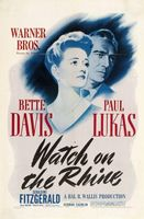 Watch on the Rhine movie poster (1943) picture MOV_415de0e0