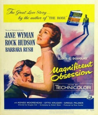 Magnificent Obsession movie poster (1954) poster MOV_415f034d