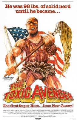 The Toxic Avenger movie poster (1985) poster MOV_416fecad