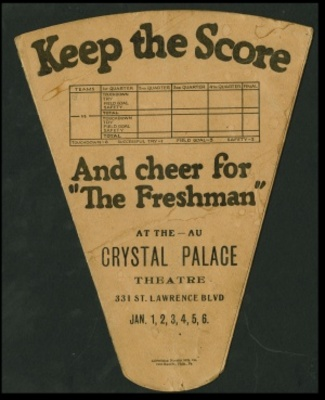The Freshman movie poster (1925) poster MOV_417925b2