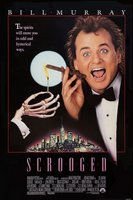 Scrooged movie poster (1988) picture MOV_417b22c3