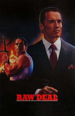 Raw Deal movie poster (1986) poster MOV_418f4fa4