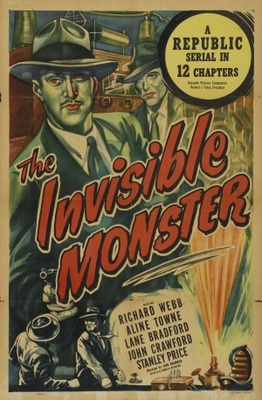 The Invisible Monster movie poster (1950) poster MOV_4191c382