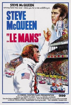 Le Mans movie poster (1971) poster MOV_41b4d47f