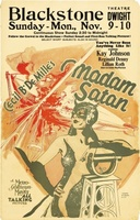 Madam Satan movie poster (1930) picture MOV_41cd0c69