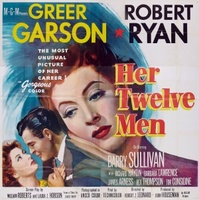 Her Twelve Men movie poster (1954) picture MOV_41cd27ee