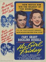 His Girl Friday movie poster (1940) picture MOV_41f176b7