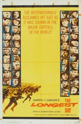 The Longest Day movie poster (1962) poster MOV_41f64021