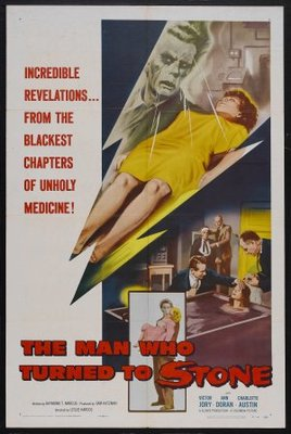 The Man Who Turned to Stone movie poster (1957) poster MOV_41f7f513