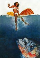 Piranha movie poster (1978) picture MOV_4217c2ba